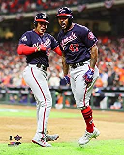 Juan Soto Washington Nationals 2019 World Series Photo Size: 8 x 10