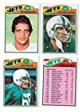 1977 Topps Football (C) Team Set - NEW YORK JETS