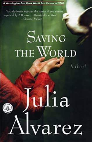 book cover of Saving the World