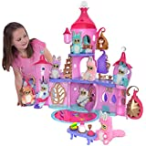 Bush Baby World Shimmer Palace Lightshow Playset with Bush Baby Soft Toy