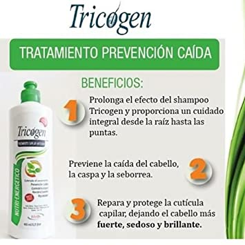 The best treatment for the loss hair TRICOGEN made in Colombia