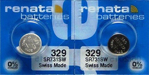 Renata Watch Electronic Silver Battery