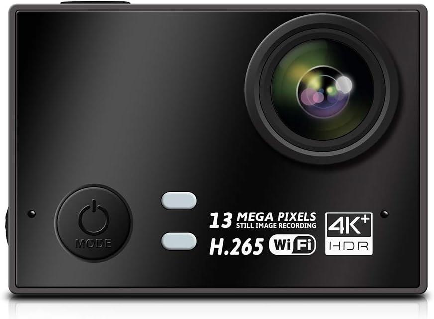 IUANUG 2020 Real Cámara 4K + 30Fps Hisilicon acción de la cámara H2.65 EIS Deportes DV Mini WiFi Acción cámara del Deporte con detección de Movimiento