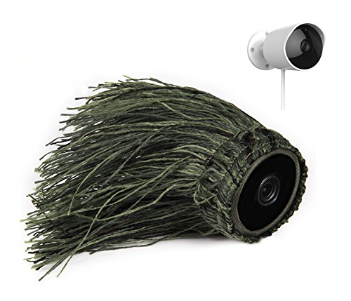 Ghillie Skin Compatible with YI Outdoor Security Camera— b