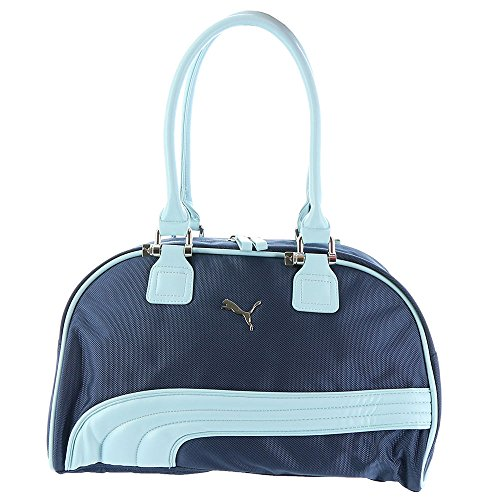 Puma Women's PMAM1236 Cartel Handbag Peacoat Puma Blue Handbag