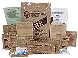 MRE (Meals Ready-to-Eat) Genuine US Military Surplus w/ Menu Selections, 16 Pork Rib
