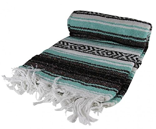 Mexican Blanket (Sea Green)