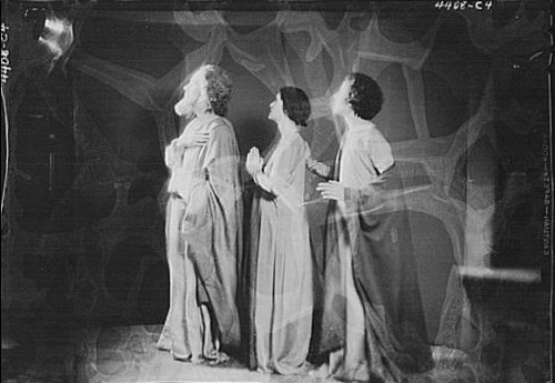 Fatal Frame V Costumes (Photo: Guthrie dancers,performers,acetate negatives,women,costumes,Arnold Genthe,1932 1)