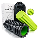 Tryiins Foam Rollers for Muscles,Trigger Point Foam Roller Review and Comparison