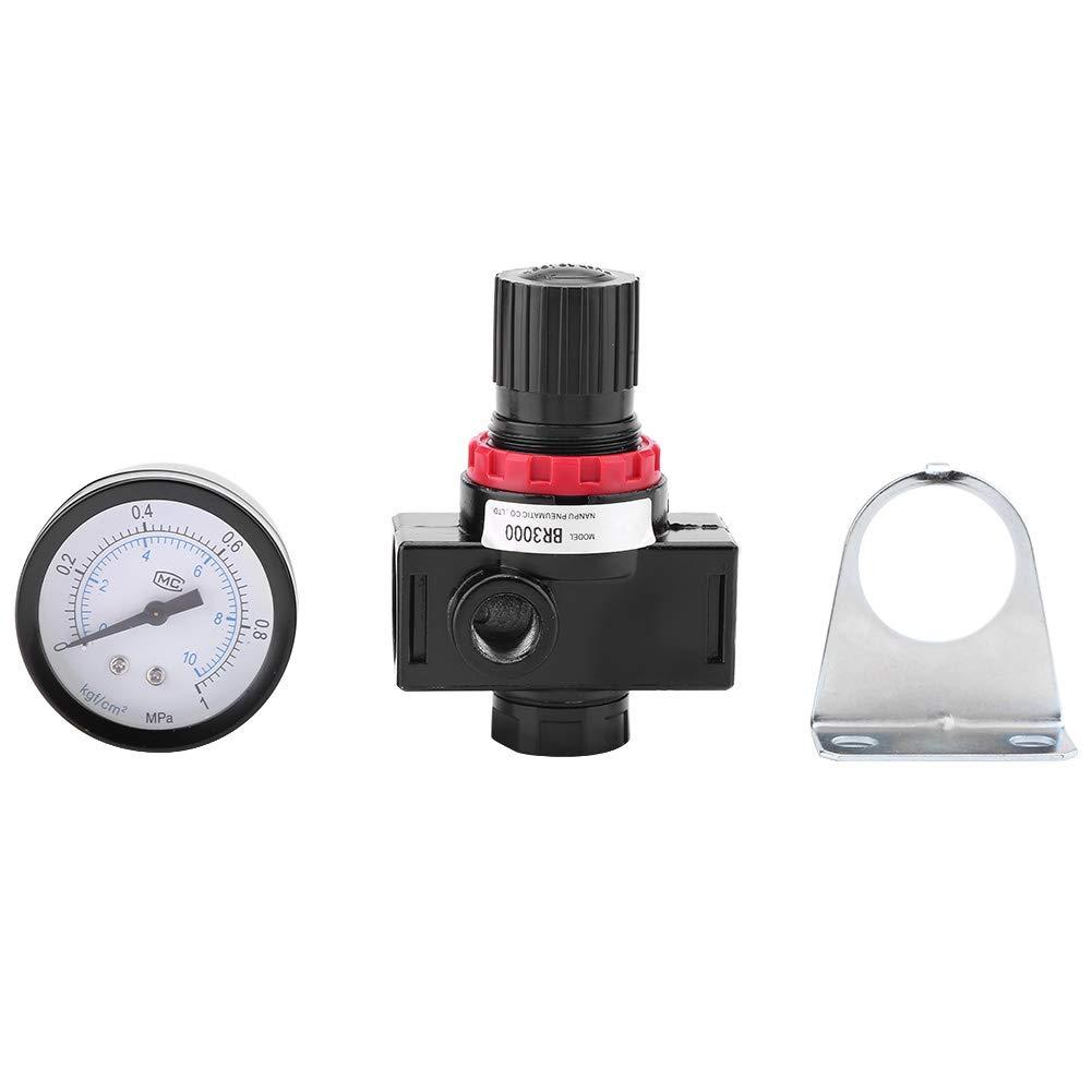 Compresor De Aire Presión Válvula Reguladora regulador de alivio de calibre con montaje de 6mm
