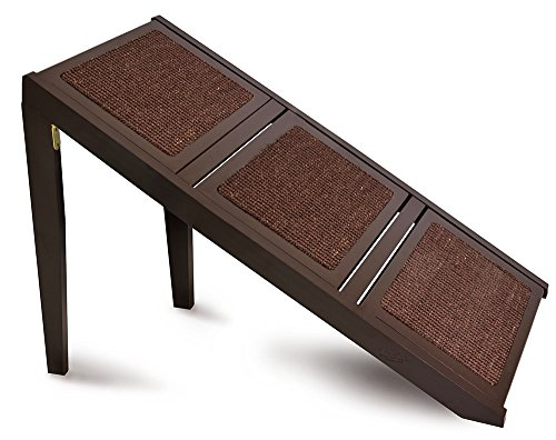 Carpeted Ramp (Martha Stewart 3 Step Cherry Wood Convertible Ramp, 29.5