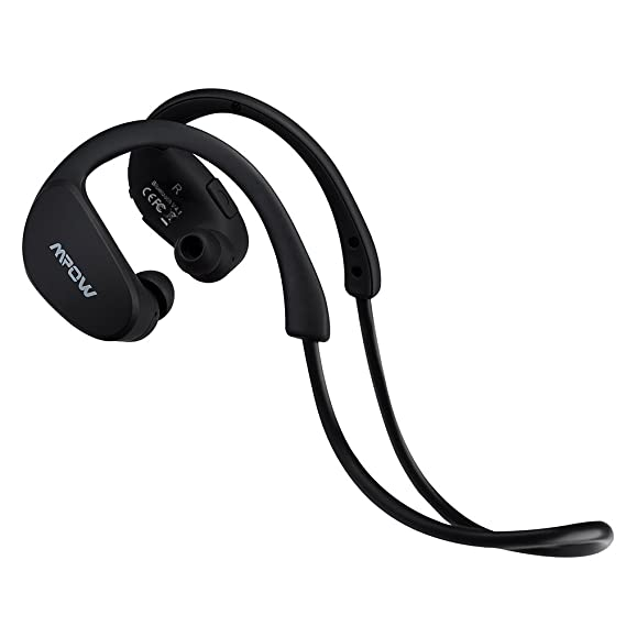 2b21e7b63ae Amazon.com: Mpow Cheetah Sport Bluetooth 4.1 Wireless Headphones Stereo  Sport Running Gym Exercise Headsets Earphones-Retail Packaging-Black: Cell  Phones & ...