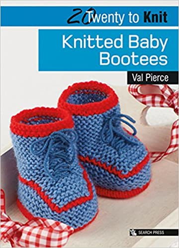 Knitted Baby Bootees Twenty To Make Val Pierce 9781844486410
