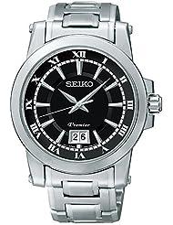 SEIKO PREMIER quartz watch Men's 100M SCJL003