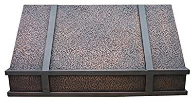 Copper Best H11 362118H Copper Range Hood 36 x 21 x 18 in Undercabinet with Liner and Internal Motor