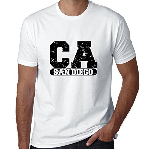 San Diego, California CA Classic City State Sign Men's T-Shirt for $<!--$21.90-->