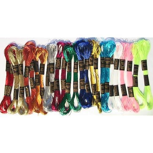 Metallic Embroidery Thread Amazon