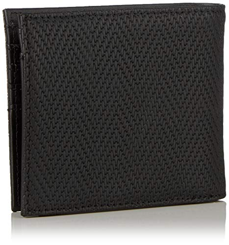 9x1x11 Armani Chevron T b X black Portafogli H Case Coin Exchange Cm Nero Logo Uomo C6rxz8wC
