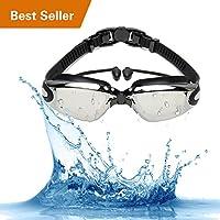FYU Swim Goggles, Swimming Goggles No Leaking Anti Fog UV...