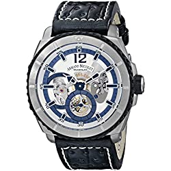 Armand Nicolet Men's T619A-AG-P760NR4 L09 Limited Edition Titanium Sporty Hand Wind Watch
