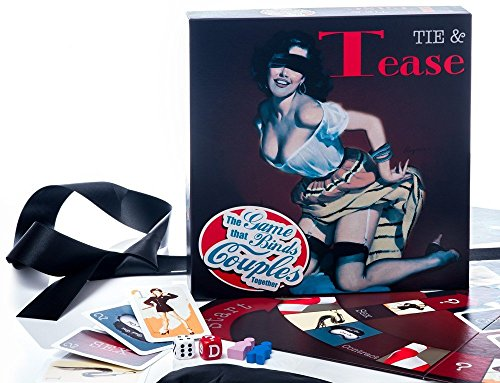 Tastees Tie Tease Board Game (Board Game Couples)