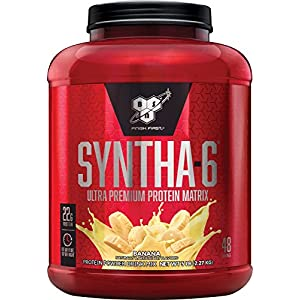 BSN SYNTHA 6 Whey Protein Powder, Micellar Casein, Milk Protein Isolate Powder
