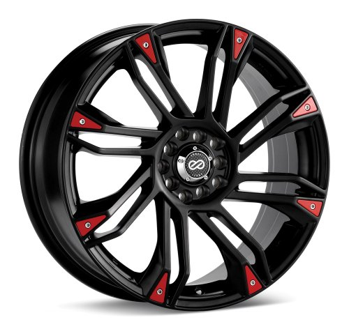 Enkei GW8 (18 x 7.5, 5 x 100 & 5 x 114.3) 42mm Offset, Black, (1) Wheel/Rim (Best Rims For Subaru Wrx)