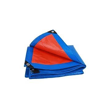 Cubierta de Polvo Azul al Aire Libre de la Lona Lona a Prueba de Agua de Aislamiento de Lona de Tela plástica 2-12m (Tamaño : 3 * 4m): Amazon.es: Hogar