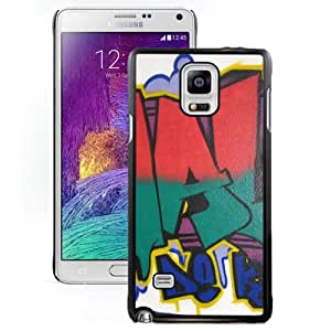 Beautiful Designed Cover Case With Malk De Koijn Graffiti Picture Font Wall For Samsung Galaxy Note 4 N910A N910T N910P N910V N910R4 Phone Case