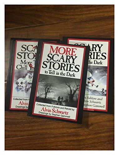 (NEW 3 SCARY STORIES to Tell in the Dark Schwartz Gammell ORIGINAL ART)