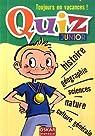 Quiz : Junior par Saintonge