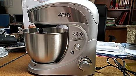 Johnson Master-chef - Batidora, amasadora, mezcladora, 1.000 W: Amazon.es: Hogar