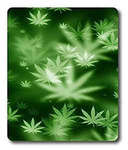 funny mouse pads Weed Nature Awesome PC Custom Mouse Pads / Mouse Mats Case Cover