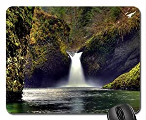 Amazing Waterfall Mouse Pad, Mousepad (Waterfalls Mouse Pad) by mcsharks