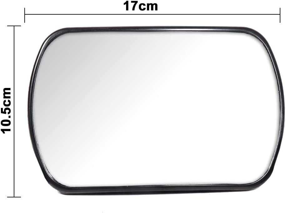 Tirol Adjustable 3 in 1 Car Baby Mirror 360/° Rotating Wide View on Windshield Sun Visor or Rear seat Headrest for Safety