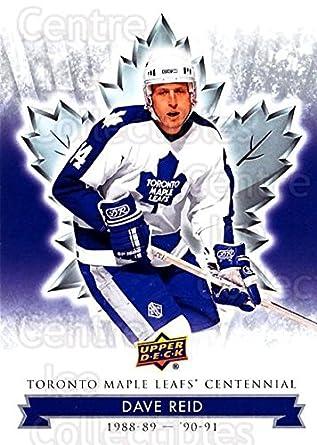 separation shoes 3d37e 1091d Amazon.com: (CI) Dave Reid Hockey Card 2017-18 Toronto Maple ...