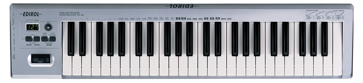 Amazon.com: Edirol PC-50 USB MIDI Keyboard Controller: Musical Instruments