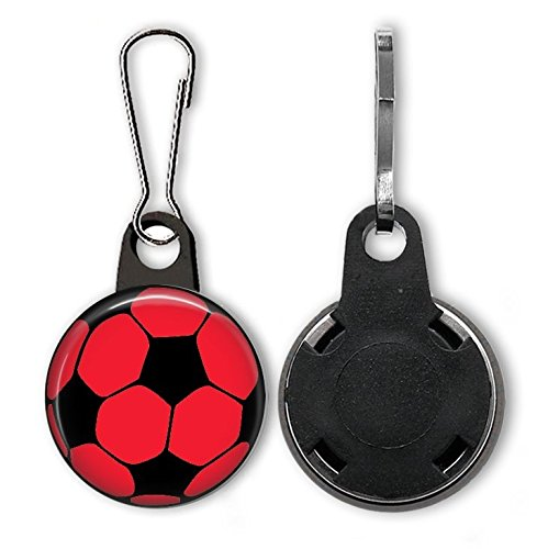Soccer Ball Zipper Pull Purse Charm One (Soccer Zipper Pull)