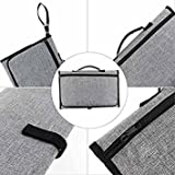 Tradico® Baby Portable Nappy Bag Diaper Changing Change Pad Clutch Mat Foldable Handbag