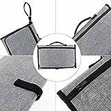 Tradico® Baby Portable Nappy Bag Diaper Changing Change Pad Clutch Mat Foldable Handbag
