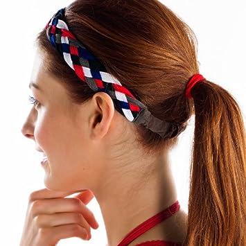 Amazon.com  Lole Tasha Headband - Women s Multi Braid One Size ... 8edd4ae7952