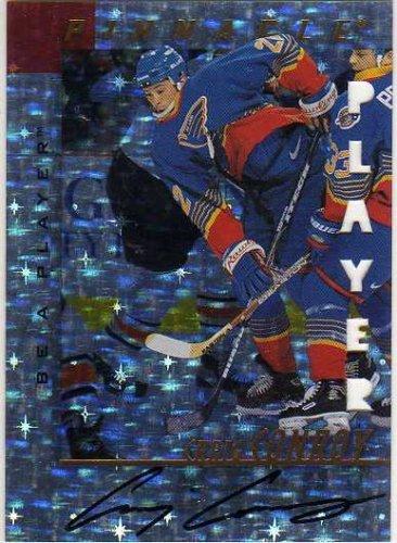 1997-98 Be A Player Autographs Prismatic Die Cut #59 Craig Conroy Autograph Card