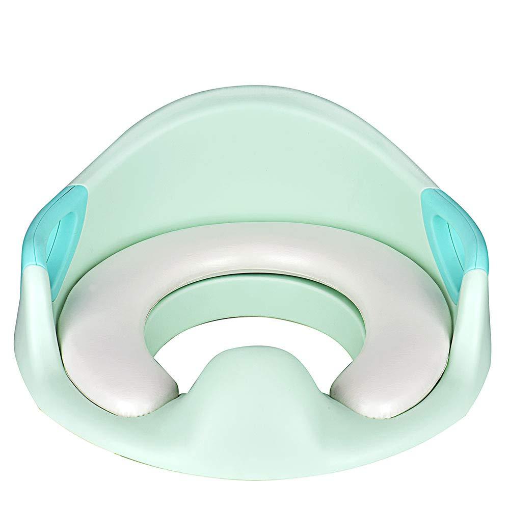 Towinle - Asiento de inodoro para niñ os con orinal de entrenamiento, unisex, para niñ os y niñ as blanco Blanco para niños y niñas blanco Blanco