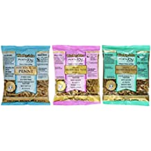 Tinkyada Organic Gluten-Free Brown Rice Pasta 3 Shape Variety Bundle: (1)  Elbow Pasta, (1) Spirals Pasta, and (1)  Penne Pasta, 12 Ounce Ea.