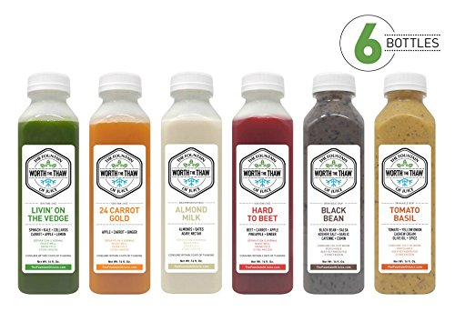 The Fountain of Juice Combination Raw Juice & Soup Cleanse (1-Day) ()