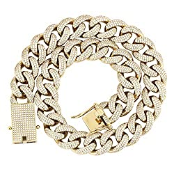 White Gold/Rose Gold Link Chain
