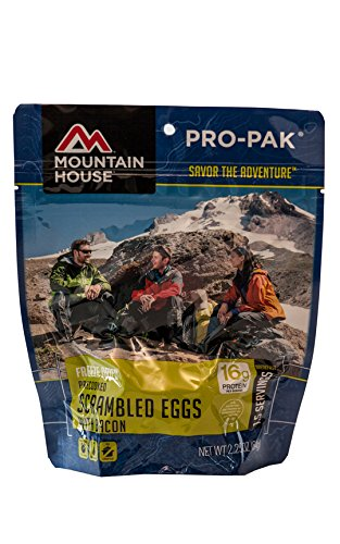 Mountain House Scrambled Eggs with Bacon Pro-Pak