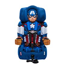 KidsEmbrace Friendship Combination Booster-Captain America, Blue, Red