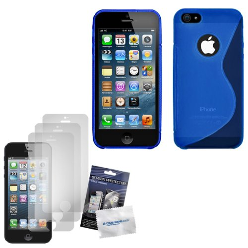 cbus-wireless-blue-s-line-flex-gel-case-skin-cover-three-lcd-screen-protectors-guards-films-for-appl