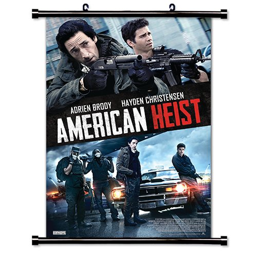American Heist Movie Fabric Wall Scroll Poster (32x46) Inches